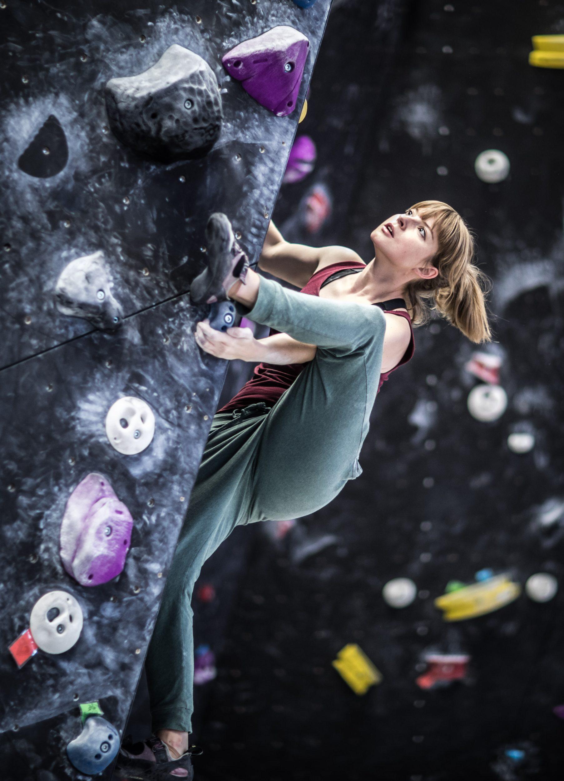 Pioniere in der Geisterstadt: Eine besondere Boulder-Halle – Hochmut